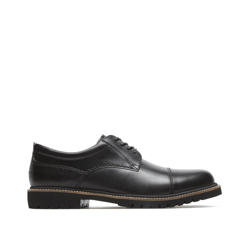 Rockport Marshall Cap Oxford Black CH1276