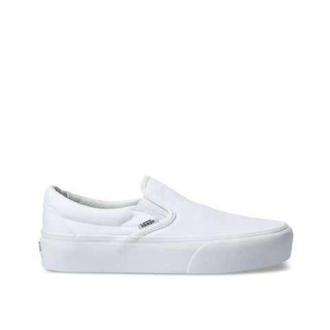 Vans Classic Slip-On Platform True White VN0A3JEZW00