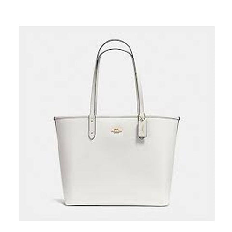 Coach Reversible City Tote Black/Chalk  F36609