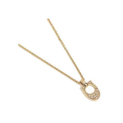 Coach Pave Signature C Necklace Gold  F54517