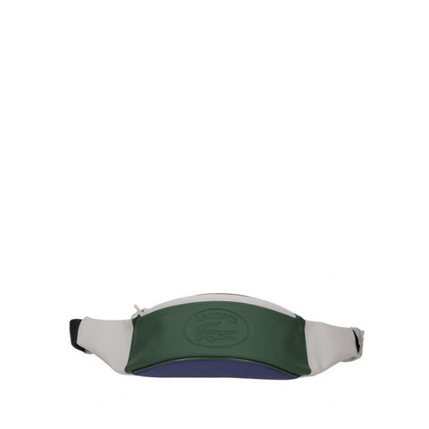 Lacoste Leather Waist Bag White greener blue NH2447XV-B21