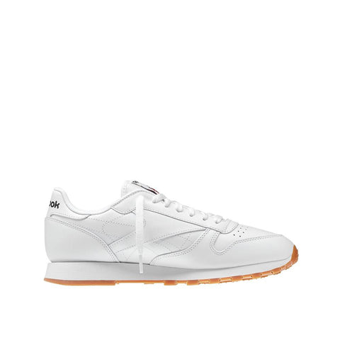 Reebok Mens Classic Leather White/Gum 49797