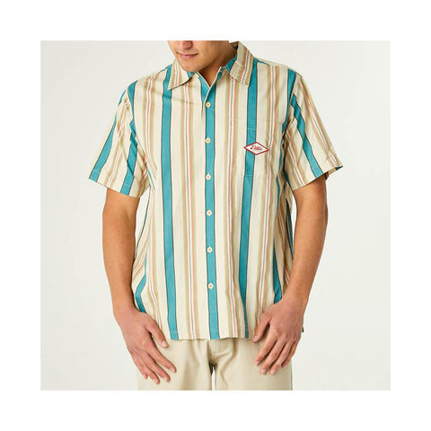 Deus Oscar Stripe Shirt Tropical Stripe DMS95326