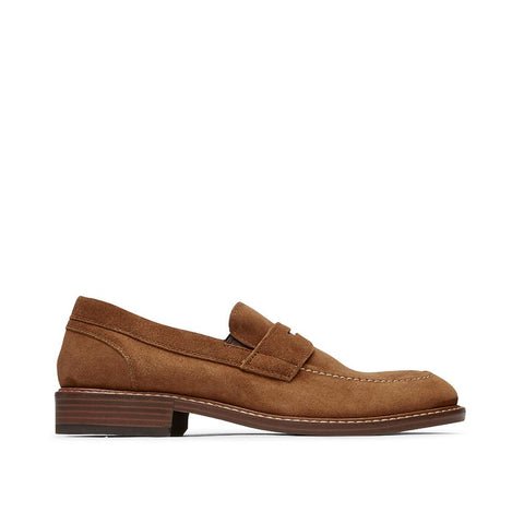 Rockport Shakespeare Kenton Penny Tan Suede CH8573