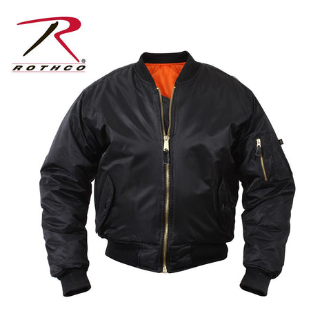 Rothco MA-1 Flight Jacket Black 7324