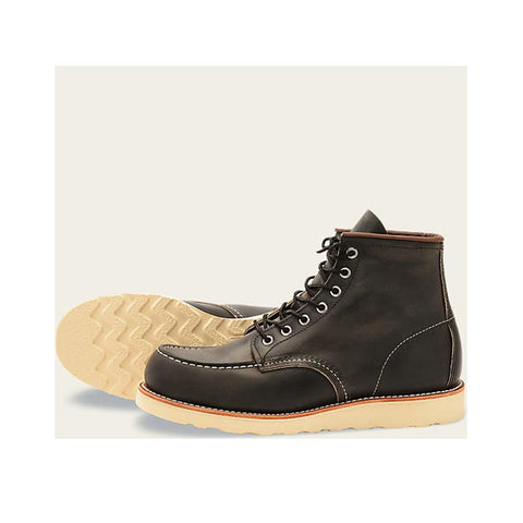 Red Wing Heritage Classic Moc Charcoal Rough and Tough Leather 8890