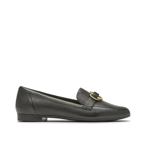 Rockport Women's Total Motion Tavia Ring Loafer Black CH9017