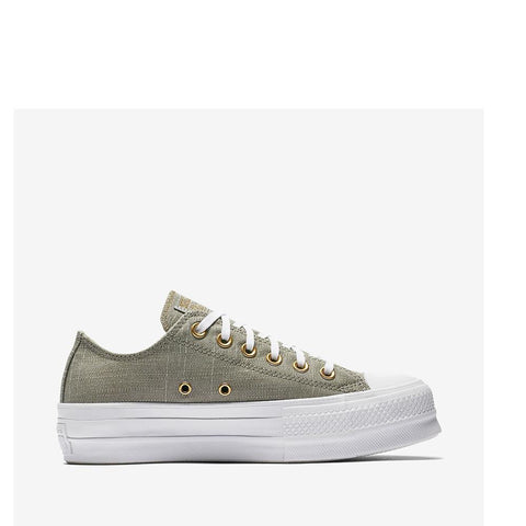Converse  Women's Ctas Lift Ox Dark Stucco/Driftwood/White/Forest/Brown 560676C