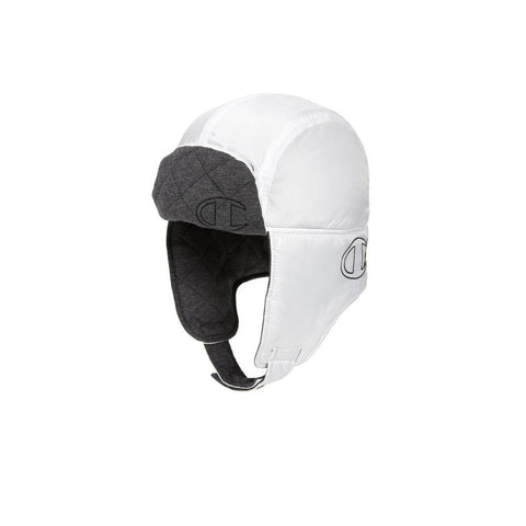 Champion Puffer Hunter's Hat White H0915