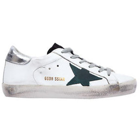 Golden Goose Superstar White /Petroleum Star G30MS590.F54