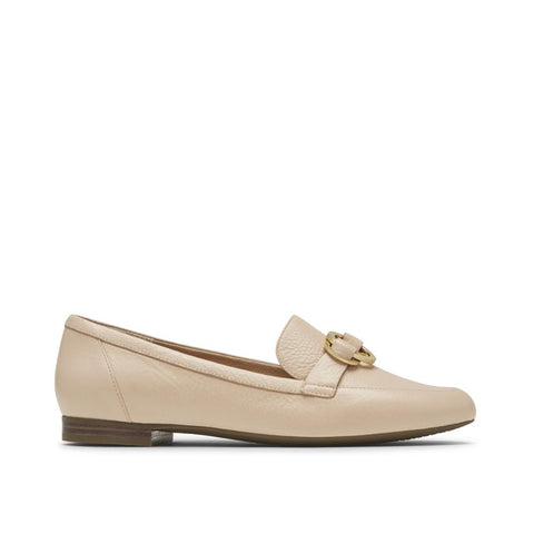 Rockport Women's Total Motion Tavia Ring Loafer Light Tan CH9015