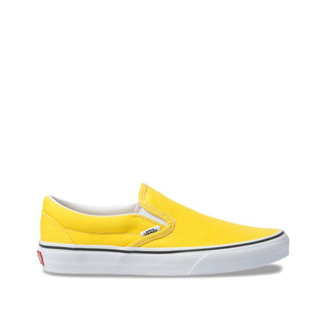 Vans Classic Slip-On Vibrant Yellow/True White  VN0A4BV3FSX
