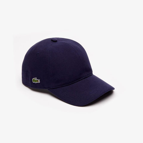 Lacoste Men's Cotton Piqué Cap Navy Blue RK0123-51 166