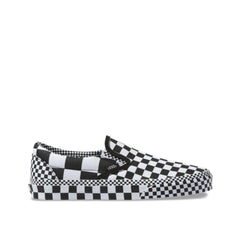 Vans All Over Checkerboard Classic Slip-On Black/True White  VN0A4BV3V8U