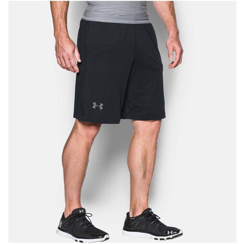 "Under Armour Men's Raid 10"" Shorts Black/Graphite 1253527-001"