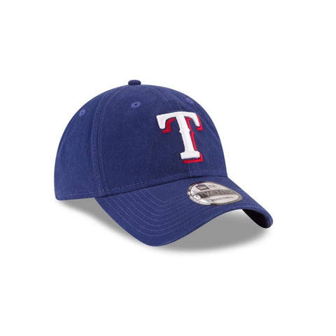 New Era Texas Rangers Core Classic 9Twenty Adjustable Blue 11591491