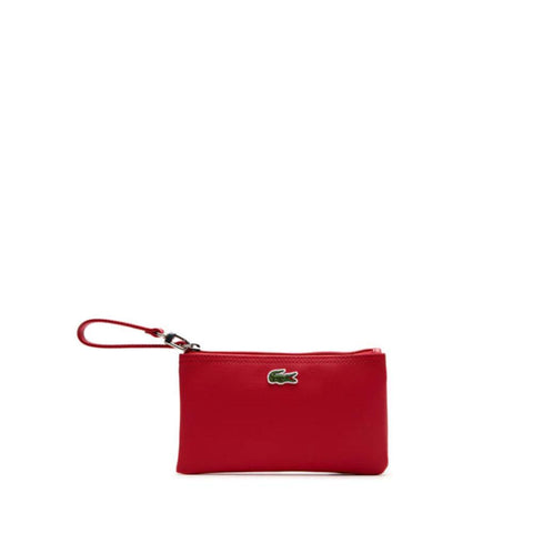 Lacoste Women's  L.12.12 Concept Zip Clutch Bag Virtual Pink NF2036PO-883