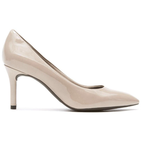 Rockport Total Motion Pointed Toe Pump Warm Taupe A11798