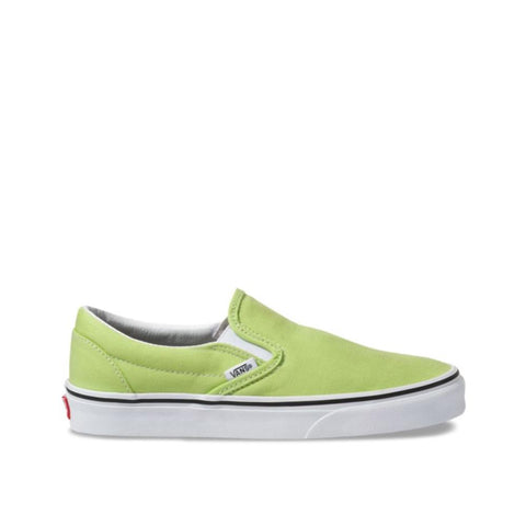 Vans Classic Slip-On Sharp Green/True White  VN0A4BV3V9K
