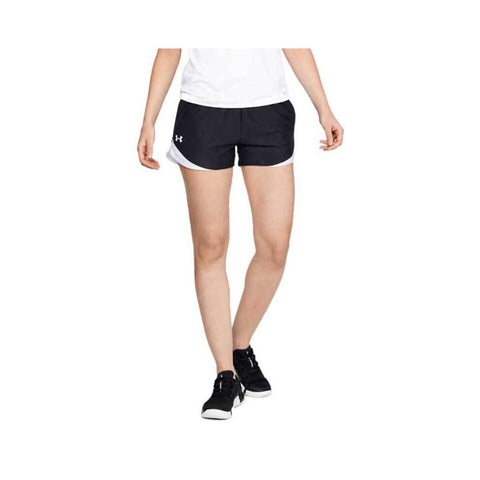 Under Armour Women's Play Up Shorts 3.0 Black - White 1344552-002