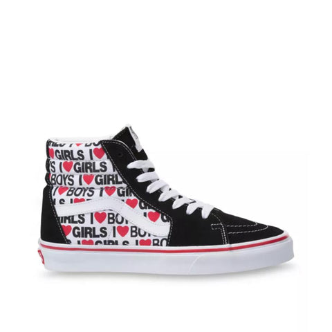 Vans UA SK8-HI I Heart Black/True White VN0A4U3CWKU