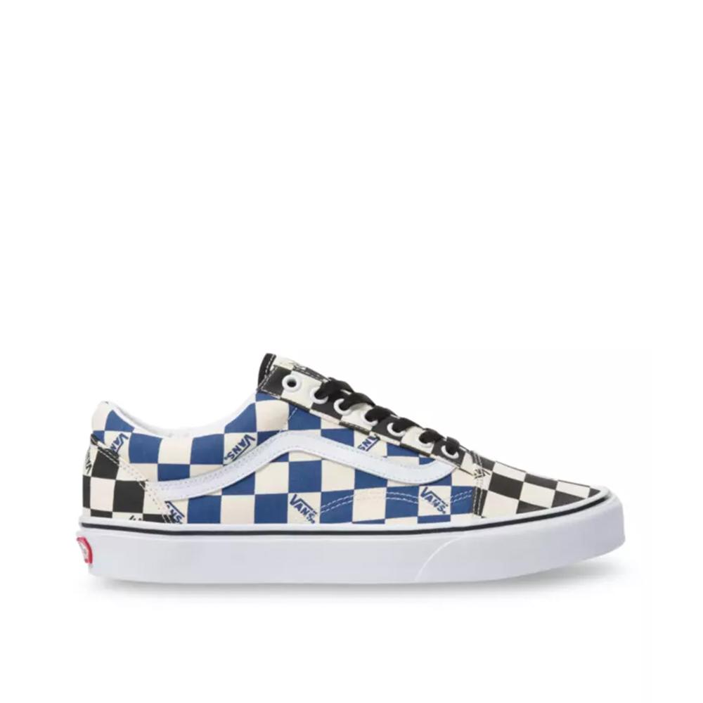 Vans Old Skool Big Check  Black/ Navy  VN0A4U3BWRT
