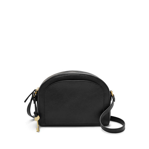 Fossil Women's Chelsea Leather Crossbody Black ZB7633001
