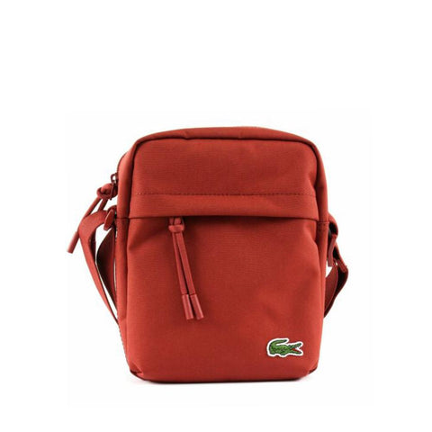 Lacoste Men's Neocroc Canvas Vertical All-Purpose Bag Burnt Henna NH2102NE 137