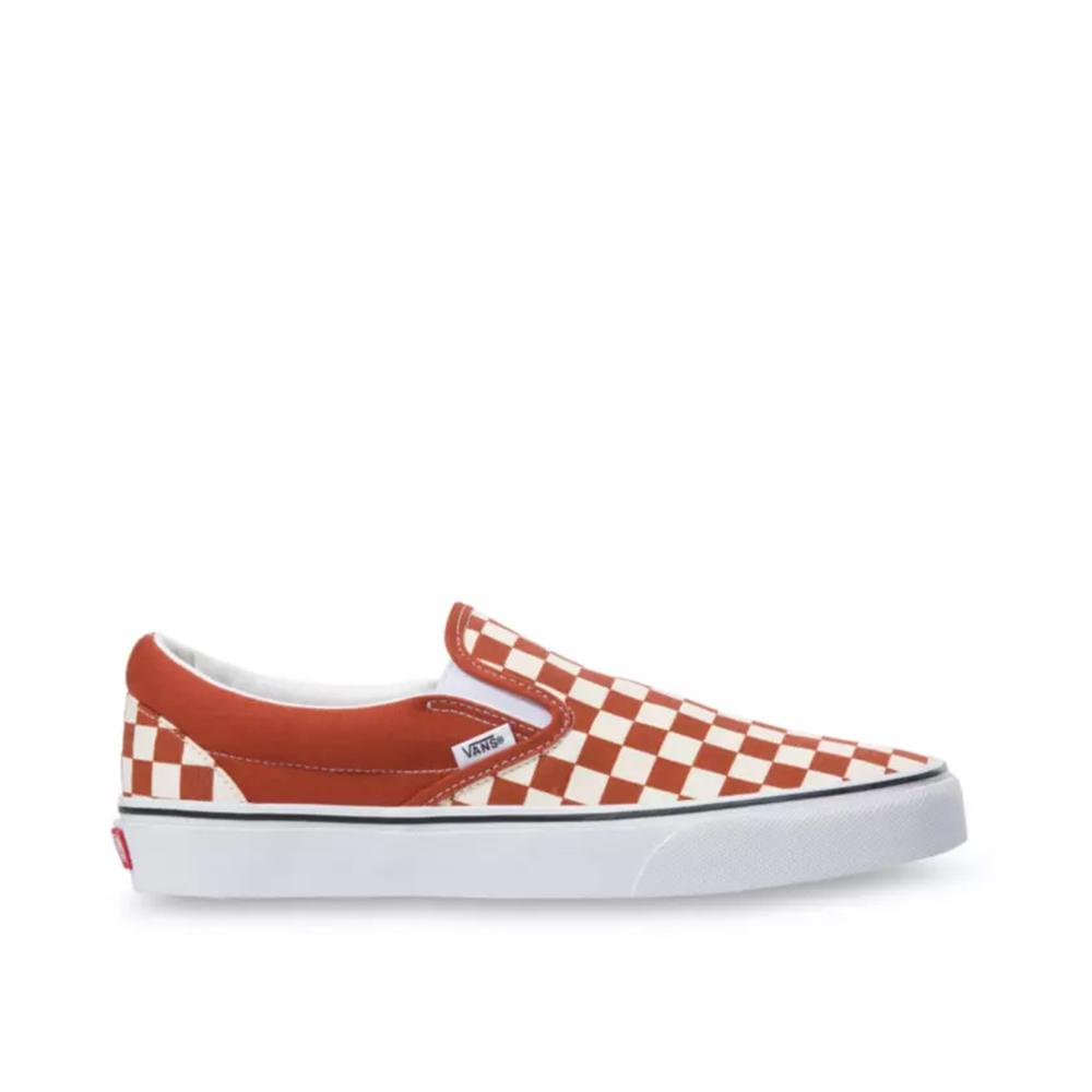 Vans Classic Slip-On Checkerboard Picante/True White VN0A4U38WS2