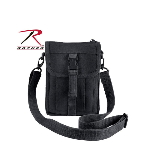 Rothco Canvas Travel Portfolio Bag Black 2325