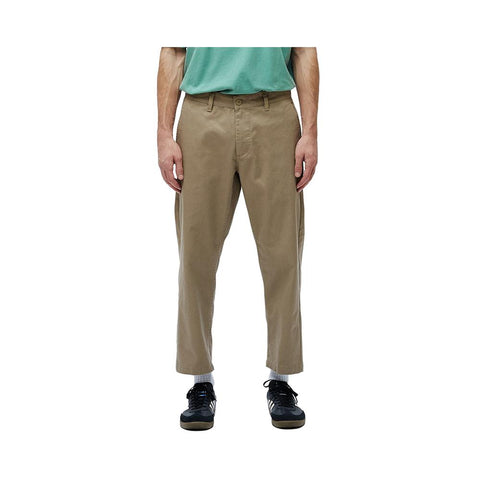 Obey Straggler Flooded Pants Khaki 142020113