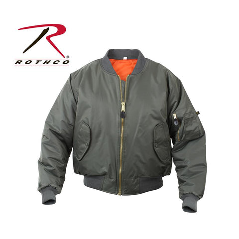 Rothco MA-1 Flight Jacket Sage Green 7323