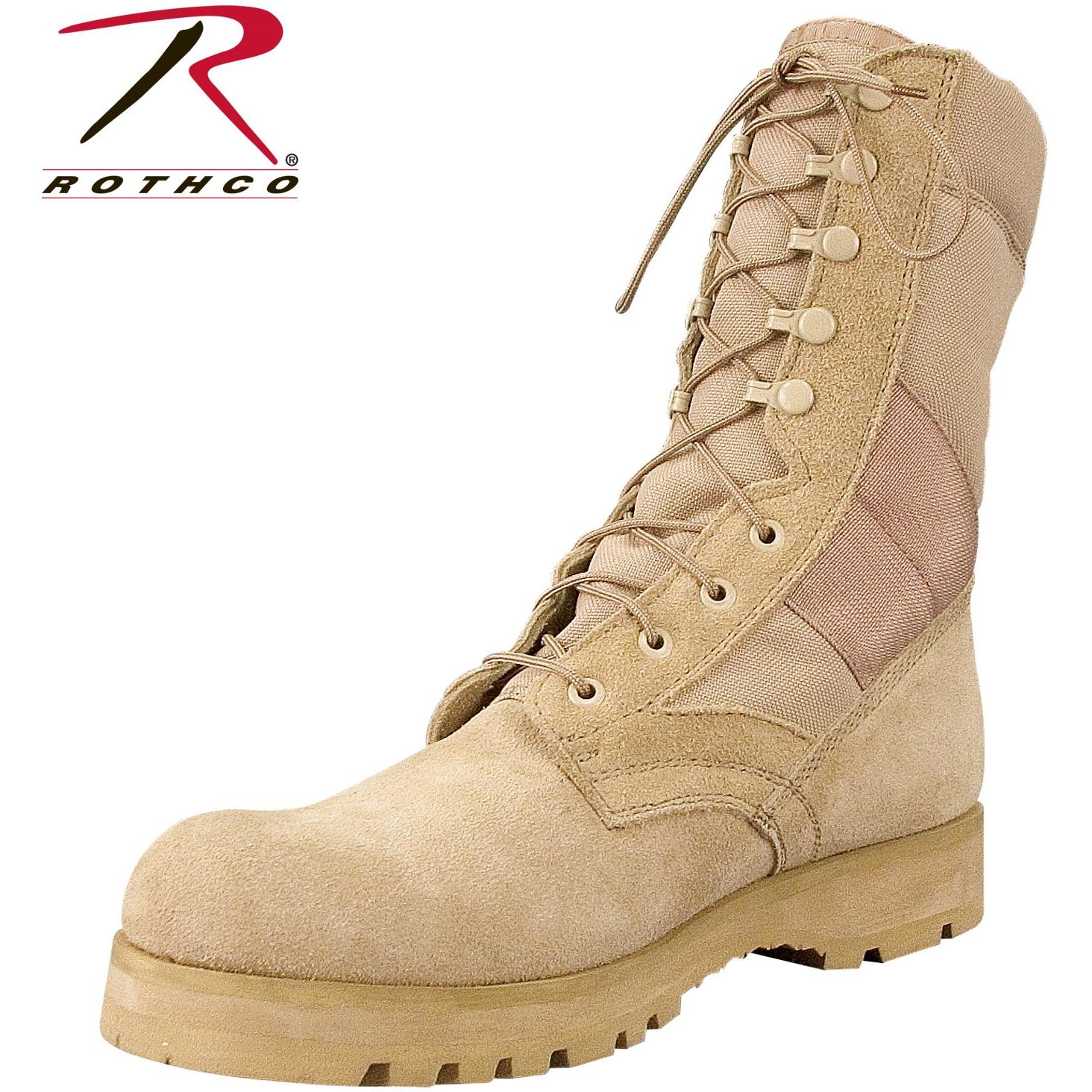 Rothco G.I. Type Sierra Sole Tactical Boots Tan 5257