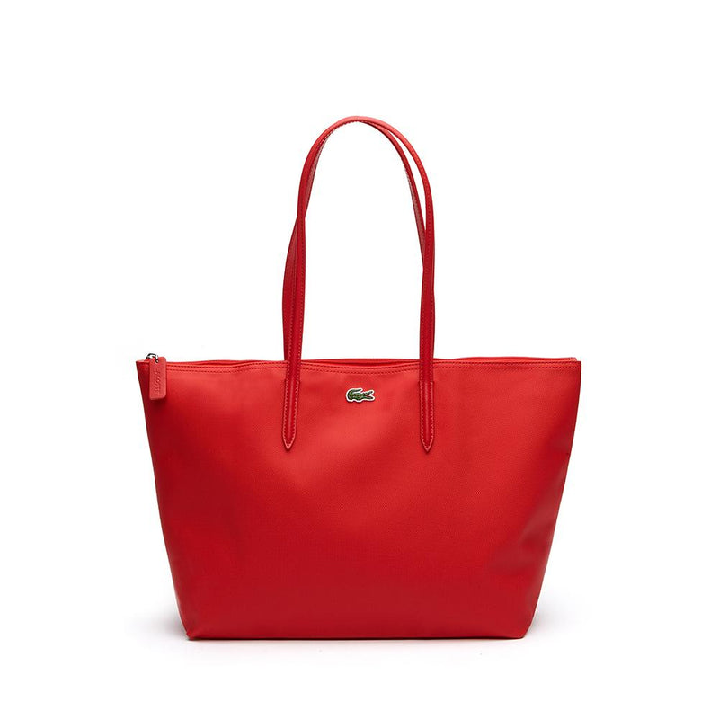 Lacoste L.12.12 Concept Large Shopping Bag High Risk Red NF1888PO-883