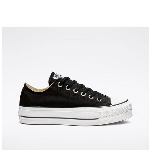 Converse Chuck Taylor All Star Platform Low Top Black/White/White 560250C