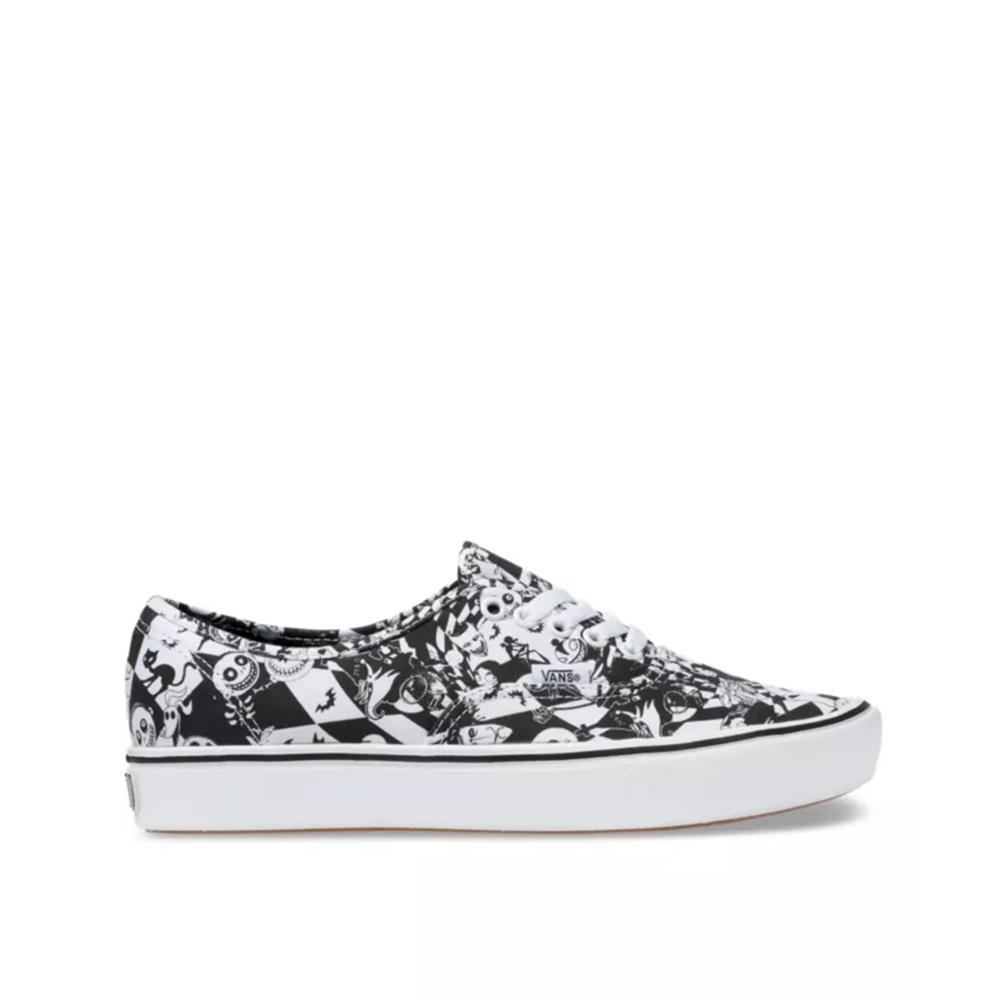 Vans X Disney  Comfycush Authentic The Nightmare before Christmas/ Multi Checker  VN0A3WM7TE1
