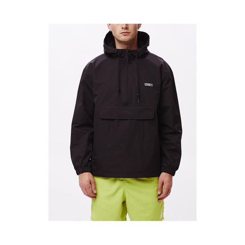 Obey Recess II Anorak Black 121800420