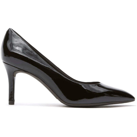Rockport Total Motion Pointed Toe Pump Black Patent A11799