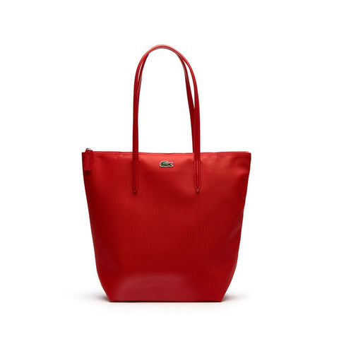 Lacoste L.12.12 Concept Vertical Shopping Bag High Risk Red NF1890PO-883