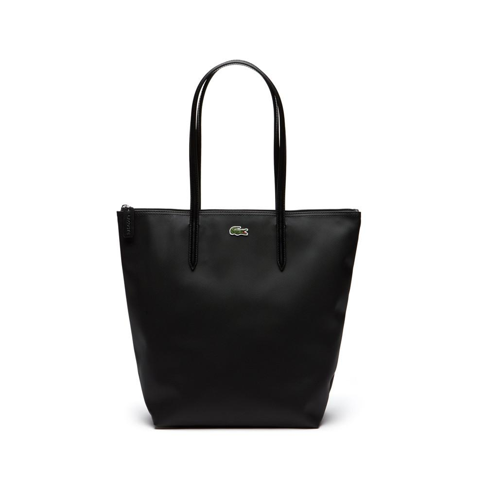 Lacoste L.12.12 Concept Vertical Shopping Bag Black NF1890PO-000