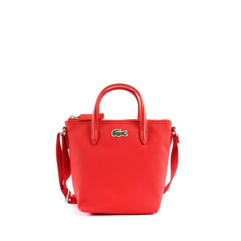 2f7961972df Lacoste XS Shopping Cross Bag High Risk Red NF2609PO-883