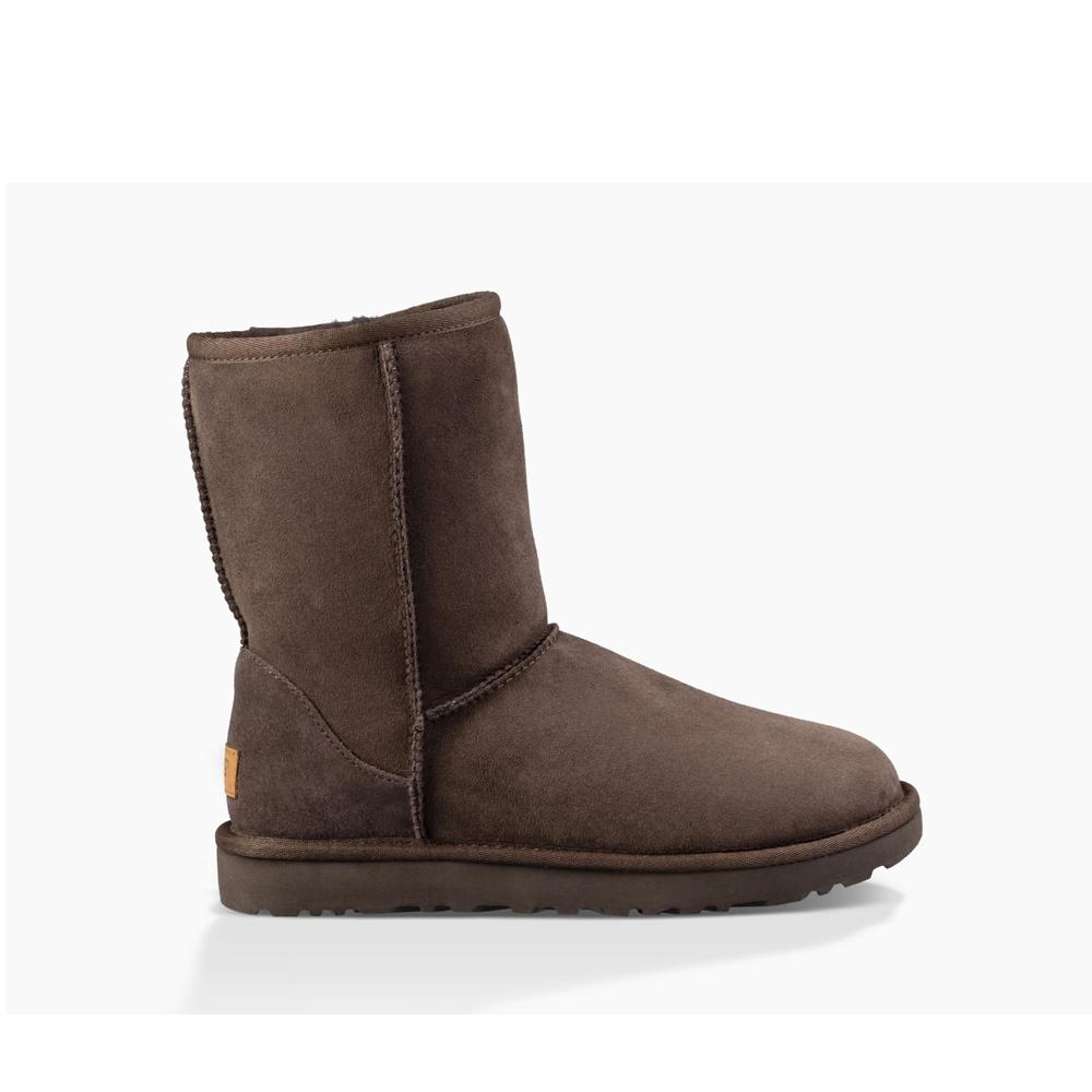 Ugg Womens Classic ll Short Chocolate 1016223