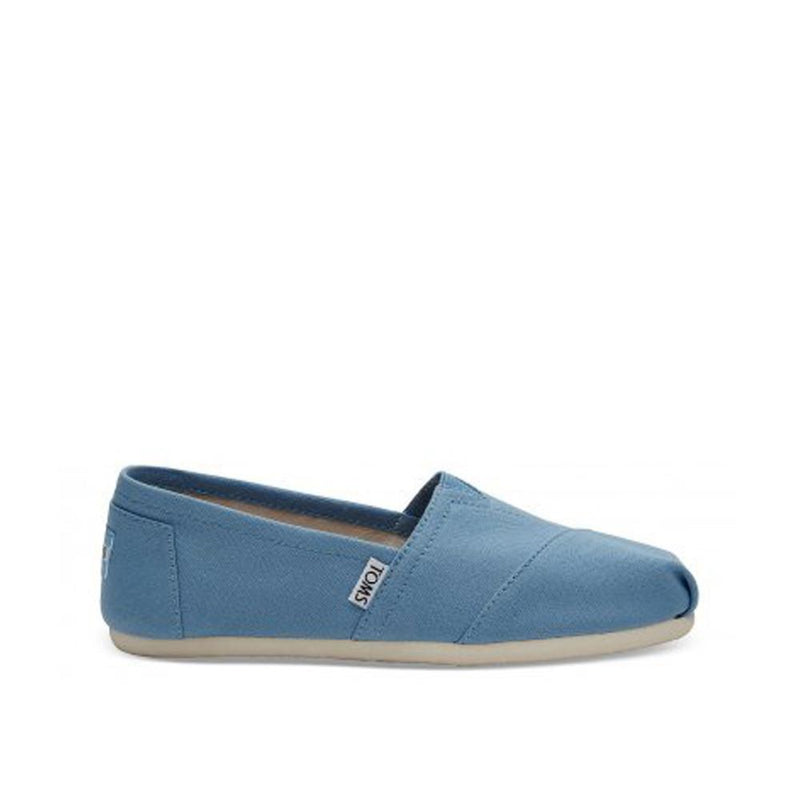 Toms Womens Canvas Alpargata Flat Cornflower Blue 10009707