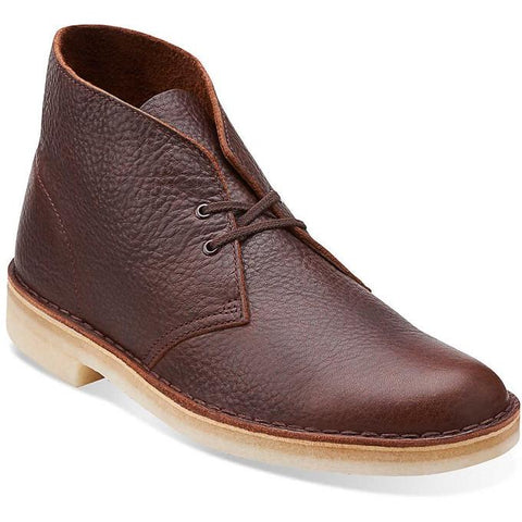 Clarks Originals Wallabee-men Brown Tumbled Leather