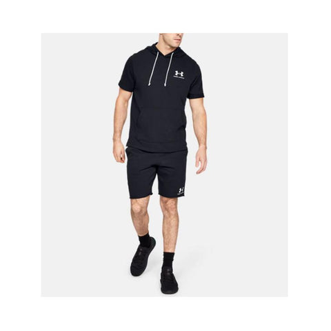Under Armour Men's UA Sportstyle Terry Shorts  Black 1329288-001