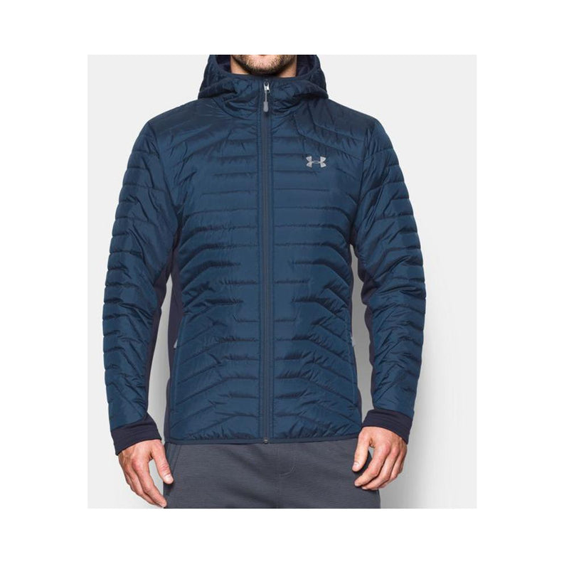 Under Armour ColdGear Reactor Hybrid Mens Jackets True Ink/Midnight Navy 1303060-918