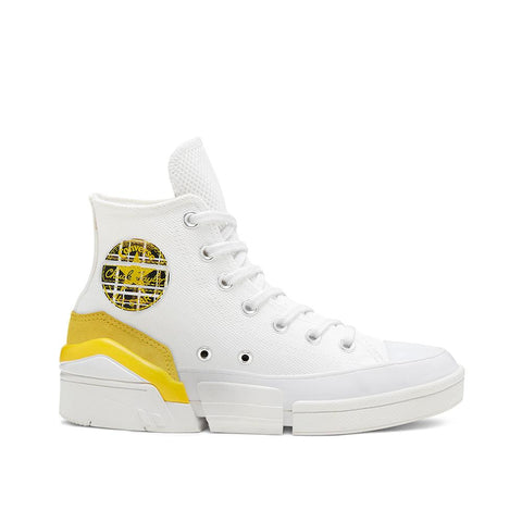 Converse Mix and Match CPX70 High Top White/Speed Yellow/Black 568648C