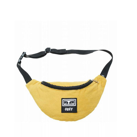 Obey Wasted Hip Bag Golden Palm 100010098