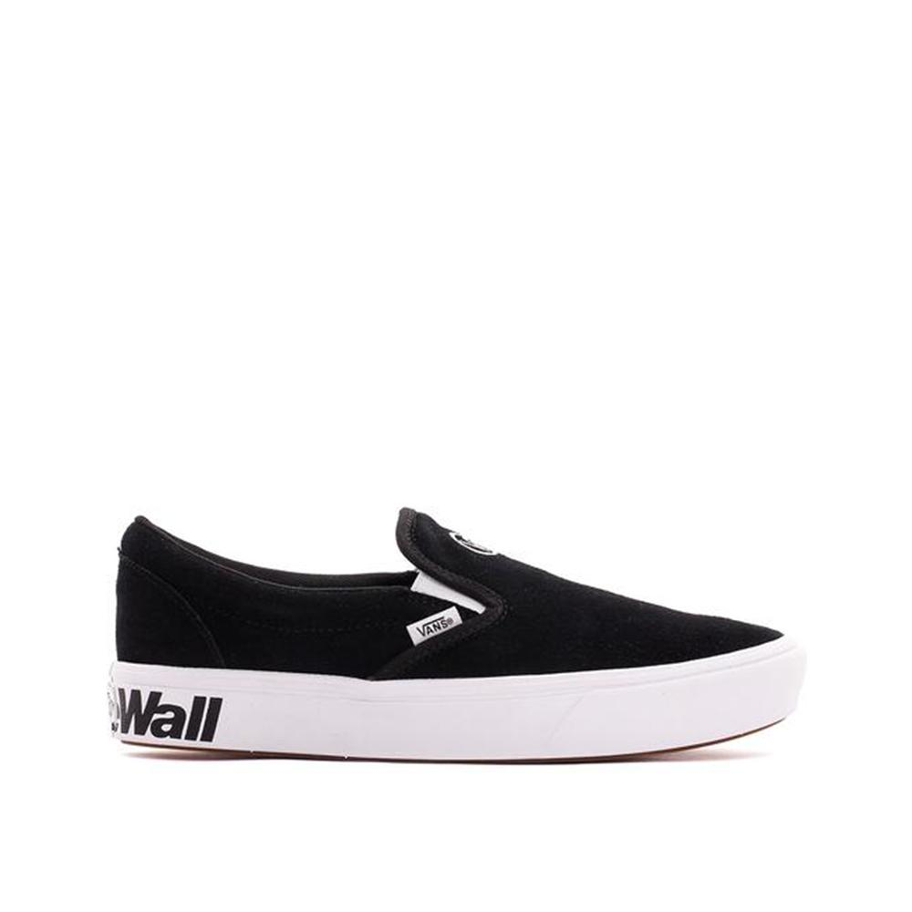 Vans Comfycush Slip-On Distort  Black/White VN0A3WMDVX6