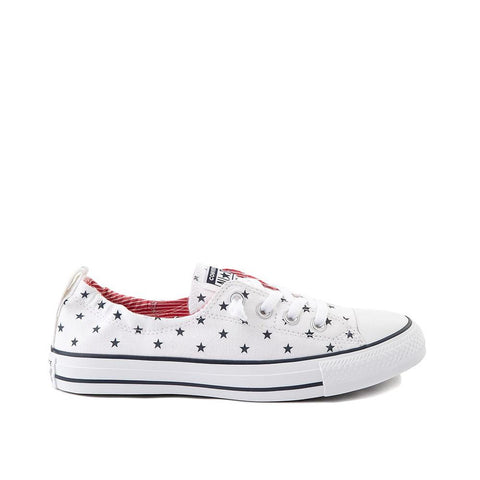 Converse Stars & Stripes Chuck Taylor All Star Shoreline Slip White/Obsidian/University Red 567731F